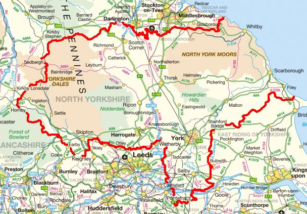 North_Yorkshire_Police_Authority_Map
